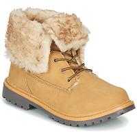 Schuhe Damen Boots Kangaroos RIVETER JR HI Cognac