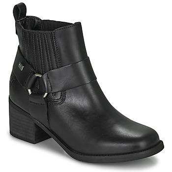 Schuhe Damen Low Boots Musse & Cloud ARLING Schwarz