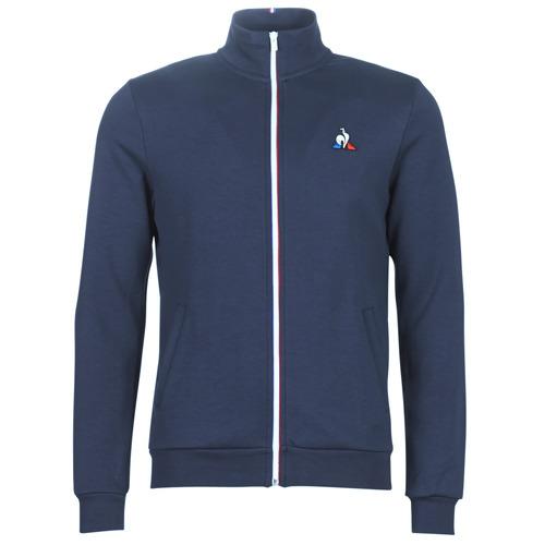 Abbigliamento Uomo Giacche sportive Le Coq Sportif ESS FZ SWEAT N°2 M Blu / Marine