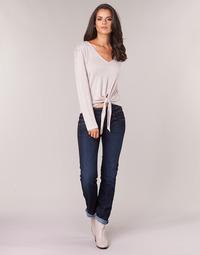 Kleidung Damen Straight Leg Jeans Freeman T.Porter CATHYA SDM Blau