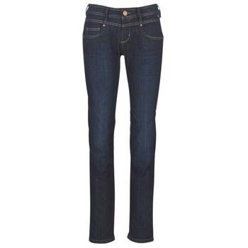 Abbigliamento Donna Jeans dritti Freeman T.Porter CATHYA SDM Blu