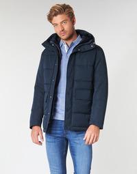 Kleidung Herren Daunenjacken Selected SLHLENO Marineblau
