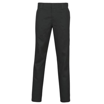 Vêtements Homme Pantalons 5 poches Dickies SLIM FIT WORK PNT Noir