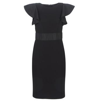 Abbigliamento Donna Abiti corti Lauren Ralph Lauren JERSEY SLEEVELESS COCKTAIL DRESS Nero