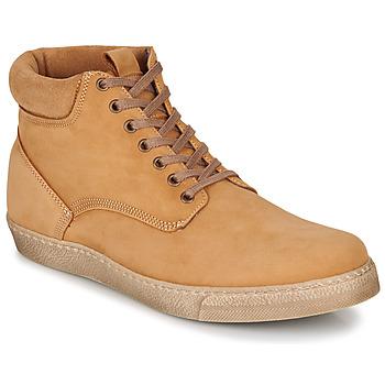 Schuhe Herren Boots Casual Attitude LEO Beige