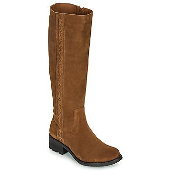 Schuhe Damen Klassische Stiefel Casual Attitude LOUNA Maulwurf