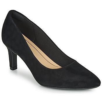 Chaussures Femme Escarpins Clarks CALLA ROSE Noir