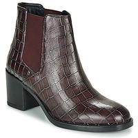 Schuhe Damen Low Boots Clarks MASCARPONE Bordeaux