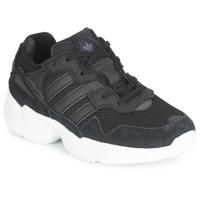Scarpe Unisex bambino Sneakers basse adidas Originals YUNG-96 C Nero
