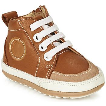Schuhe Kinder Sneaker High Robeez MIGO Cognac