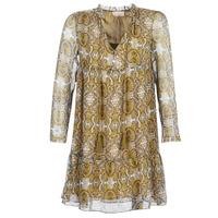 Kleidung Damen Kurze Kleider Moony Mood LONI Gelb