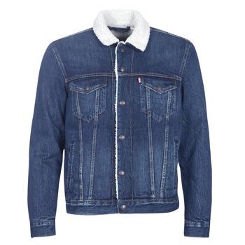 Vêtements Homme Vestes en jean Levi's TYPE 3 SHERPA TRUCKER Palmer sherpa trucker