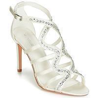 Schuhe Damen Sandalen / Sandaletten Menbur MAFAT Elfenbein