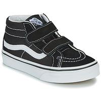 Chaussures Enfant Baskets montantes Vans UY SK8-MID REISSUE V Noir / Blanc