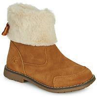 Chaussures Fille Boots Mod'8 STELIE Cognac