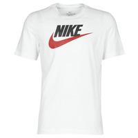 Vêtements Homme T-shirts manches courtes Nike M NSW TEE ICON FUTURA Blanc