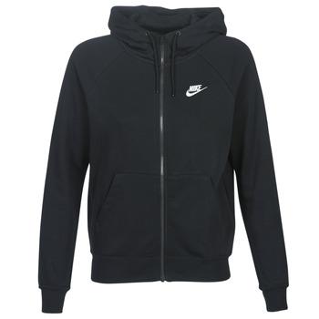 Vêtements Femme Sweats Nike W NSW ESSNTL HOODIE FZ FLC Noir