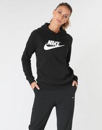 Vêtements Femme Sweats Nike W NSW ESSNTL HOODIE PO  HBR Noir