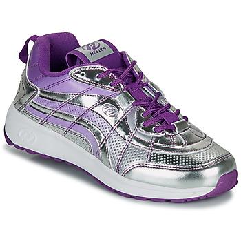 Schuhe Mädchen Rollschuhe Heelys NITRO Silbrig
