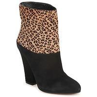 Chaussures Femme Bottines Sebastian CAVALLINO Noir