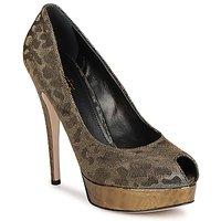 Schuhe Damen Pumps Sebastian TESS Grau / Goldfarben