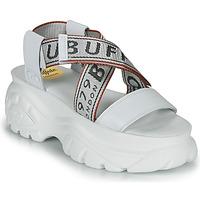 Schuhe Damen Sandalen / Sandaletten Buffalo 1501025 Weiss