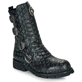 Chaussures Boots New Rock  Noir