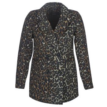 Abbigliamento Donna Cappotti Vero Moda VMCOCOLEOPARD Marrone