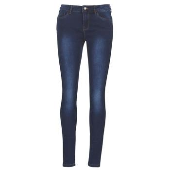 Vêtements Femme Jeans slim Vero Moda VMSEVEN Bleu foncé