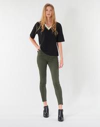 Abbigliamento Donna Pantaloni 5 tasche Vero Moda VMSEVEN Kaki