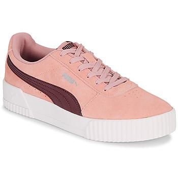 Schuhe Damen Sneaker Low Puma CARINA Rose