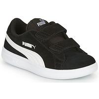 Scarpe Unisex bambino Sneakers basse Puma SMASH Nero