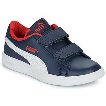 Schuhe Jungen Sneaker Low Puma SMASH PS Marineblau