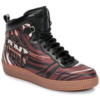 Schuhe Herren Sneaker High Roberto Cavalli 8343 Multifarben
