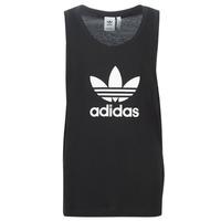 Kleidung Herren Tops adidas Originals TREFOIL TANK Schwarz