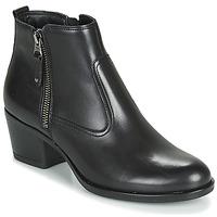 Schuhe Damen Boots André MADRID Schwarz