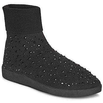 Chaussures Femme Baskets montantes André BAYA Noir