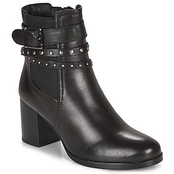 Schuhe Damen Low Boots André NOTE Schwarz