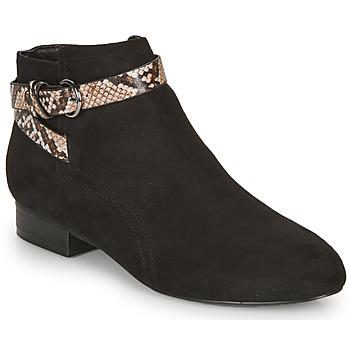Chaussures Femme Bottines André EVANE Noir