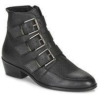 Schuhe Damen Boots André ERNA Schwarz