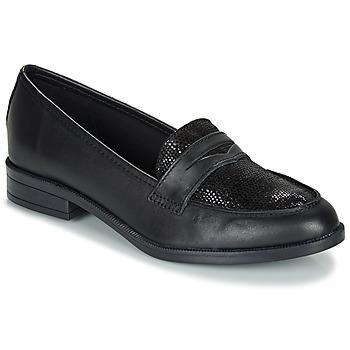 Chaussures Femme Mocassins André EMERAUDE Noir