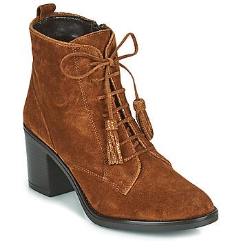 Chaussures Femme Bottines André MAGICIENNE Camel