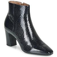Schuhe Damen Low Boots André L'INFLUENTE Marineblau