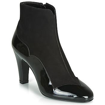 Chaussures Femme Bottines André LA ROMANTIQUE Noir