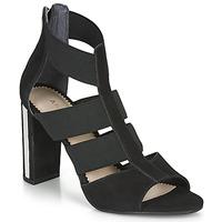 Chaussures Femme Sandales et Nu-pieds André LA  DETERMINEE Noir