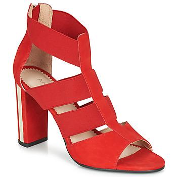 Schuhe Damen Sandalen / Sandaletten André LA DETERMINEE Rot