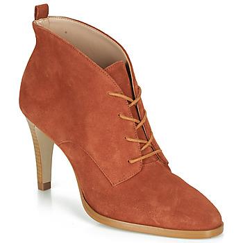 Schuhe Damen Low Boots André LITCHI Orange