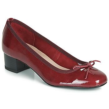 Chaussures Femme Escarpins André POEME Rouge