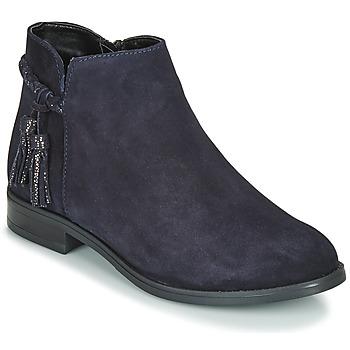 Chaussures Femme Boots André MILOU Marine