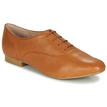 Schuhe Damen Derby-Schuhe André EXQUIS Kamel